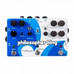 Pigtronix Philosopher's King Compressor & Sustainer Pedalı