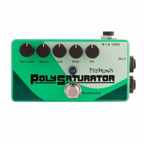 Pigtronix Polysaturator Overdrive Pedalı<br>Fotoğraf: 1/1