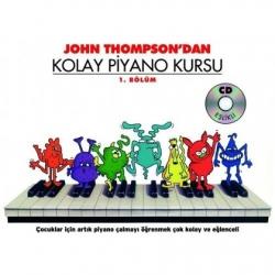 Porte John Thompson Kolay Piyano Kursu 1