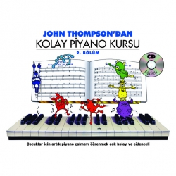 Porte John Thompson Kolay Piyano Kursu 2