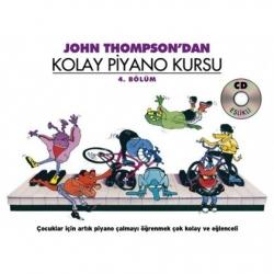 Porte John Thompson Kolay Piyano Kursu 4