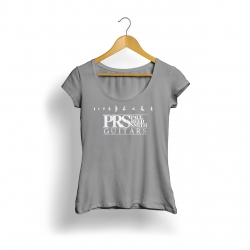 Prs Logo Kadın T-Shirt (Gri)