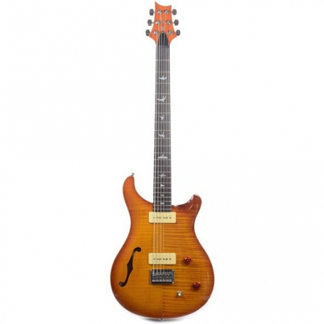 PRS SE 277 Semi-Hollow Soapbar Elektro Gitar (Vintage Sunburst)<br>Fotoğraf: 1/4