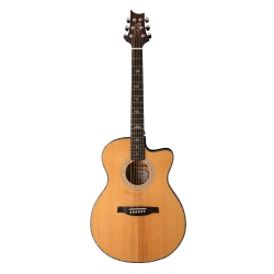 PRS SE Angelus AE50E Black Gold Elektro Akustik Gitar (Natural)