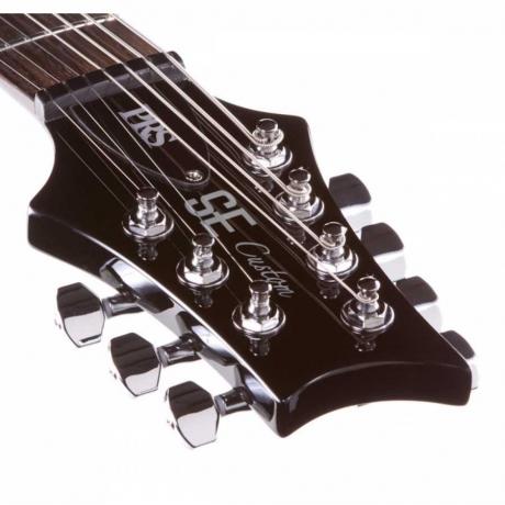 PRS SE Custom 24-7 7-Telli Elektro Gitar (Black)<br>Fotoğraf: 4/5