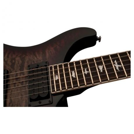 PRS SE Mark Holcomb 2019 Elektro Gitar (Holcomb Burst)<br>Fotoğraf: 3/4