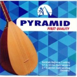 Pyramid 004/PPBT First Quality Kısa Sap Bağlama Teli (0,18)