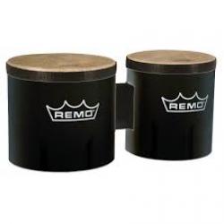 Remo  6 İnç- 7 İnç Siyah Bongo