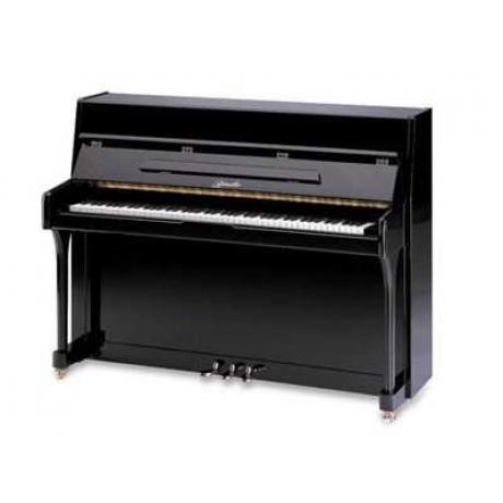 Ritmüller UP110R Akustik Duvar Piyanosu (Parlak Siyah)<br>Fotoğraf: 1/1