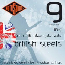 Rotosound BS9 Biritish Steels Elektro Gitar Teli (9-42)