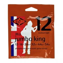 Rotosound JK12 Jumbo King Akustik Gitar Teli (.012 - .054)