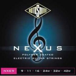 Rotosound NXE9 Nexus Polymer Elektro Gitar Teli (9-42)