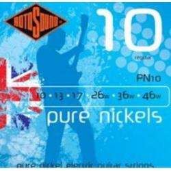 Rotosound PN10 Pure Nikel Elektro Gitar Teli (10-46)