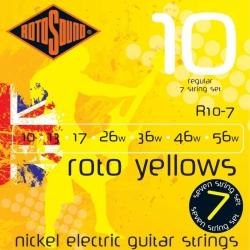Rotosound R10-7 Nickel 7 Telli Elektro Gitar Teli Seti (10-56)