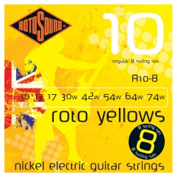 Rotosound R10-8 8 Telli Elektro Gitar Teli (.010 - .074w)