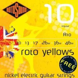 Rotosound R10 Yellow Elektro Gitar Teli (10-46)