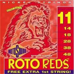 Rotosound R11 Red Elektro Gitar Teli (11-48)
