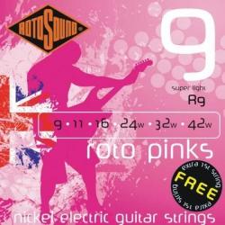 Rotosound R9 Roto Pinks Elektro Gitar Teli (09-42)