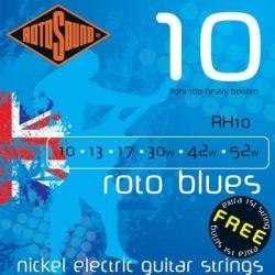 Rotosound RH10 Blue Elektro Gitar Teli (10-52)