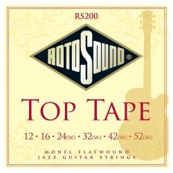 Rotosound RS200 Top Tape Elektro Gitar Teli (12-52)