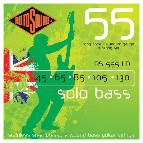 Rotosound RS555LD Linea Pressure Wound 5 Telli Bas Gitar Teli (045-130)<br>Fotoğraf: 1/1