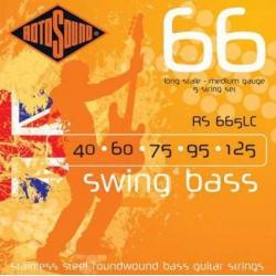 Rotosound RS665LC Swing 5 Telli Bass Gitar Teli (040-125)