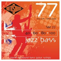 Rotosound SM77 Jazz 4 Telli Bas Gitar Teli (040 - 100)