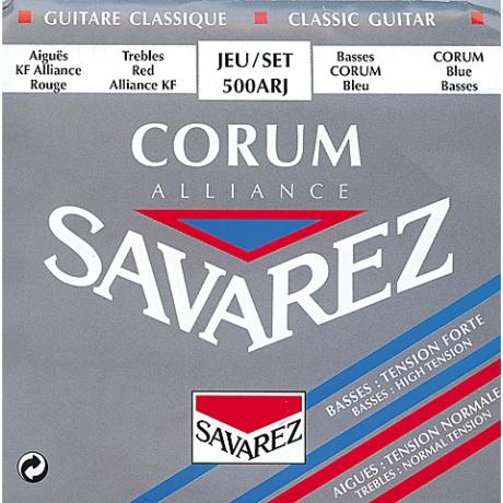 Savarez 500ARJ Alliance Hard Tension Classic Rouge Blue Klasik Gitar Teli<br>Fotoğraf: 1/1