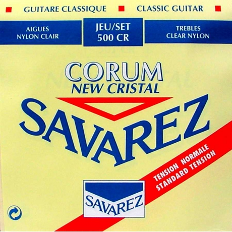 Savarez 500CR Cristal Corum Rogue Klasik Gitar Teli<br>Fotoğraf: 1/1
