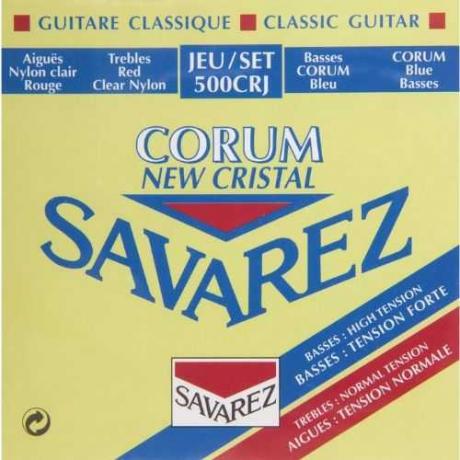 Savarez 500CRJ Cristal Corum Rouge Blue Klasik Gitar Teli<br>Fotoğraf: 1/1