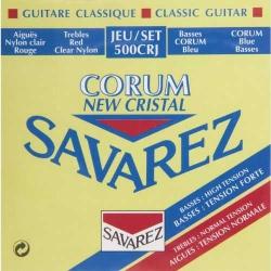 Savarez 500CRJ Cristal Corum Rouge Blue Klasik Gitar Teli