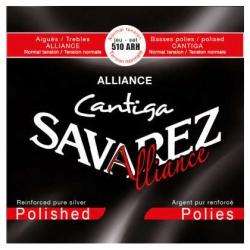 Savarez 510 ARH New Cristal Cantiga Polished Klasik Gitar Teli (Normal Tension)