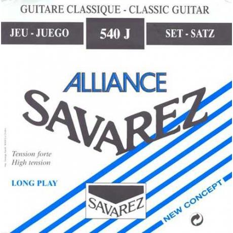 Savarez 540J Alliance HT Classic Blue Klasik Gitar Teli<br>Fotoğraf: 1/1