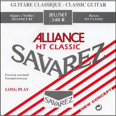Savarez 540R Alliance HT Classic Rouge Klasik Gitar Teli<br>Fotoğraf: 1/1
