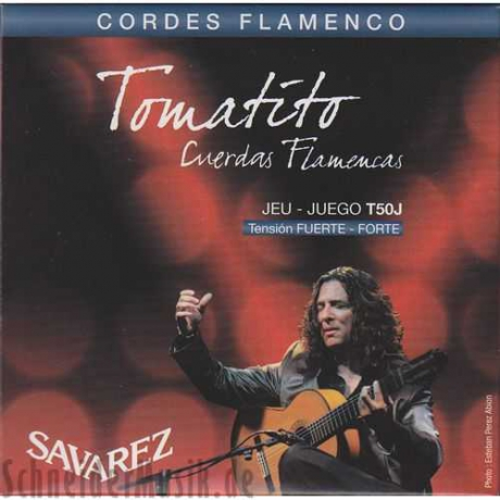 Savarez T50j Tomatito High Tension Flamenco Gitar Teli<br>Fotoğraf: 1/1
