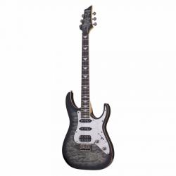 Schecter Banshee-6 Extreme Elektro Gitar (Charcoal Burst)