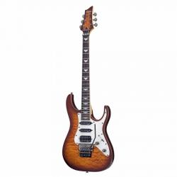 Schecter Banshee-6 Extreme FR Elektro Gitar (Vintage Sunburst)