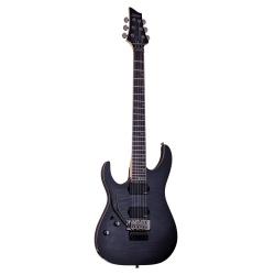 Schecter Banshee-6 FR Active Elektro Gitar (Trans Black Burst)