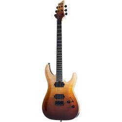 Schecter C-1 SLS Elite Elektro Gitar (Antique Fade Burst)