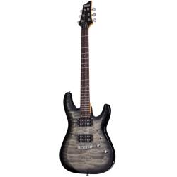 Schecter C-6 Plus Charcoal Burst Elektro Gitar