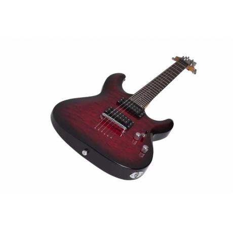 Schecter C-6 Plus Elektro Gitar (See-Thru Cherry Burst)<br>Fotoğraf: 6/7