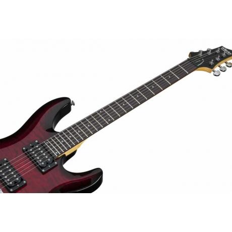 Schecter C-6 Plus Elektro Gitar (See-Thru Cherry Burst)<br>Fotoğraf: 7/7