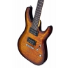 Schecter C-6 Plus Vintage Sunburst Elektro Gitar<br>Fotoğraf: 3/6