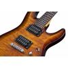 Schecter C-6 Plus Vintage Sunburst Elektro Gitar<br>Fotoğraf: 6/6