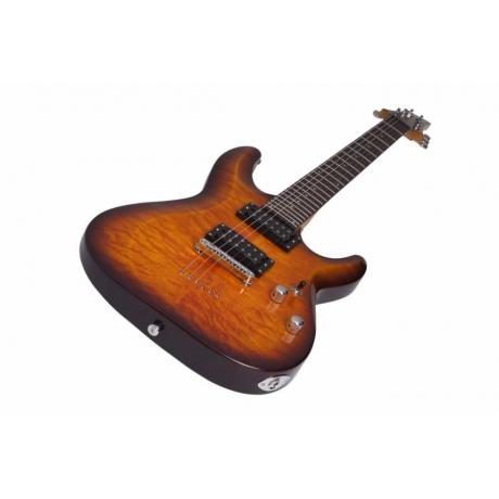 Schecter C-6 Plus Vintage Sunburst Elektro Gitar<br>Fotoğraf: 4/6