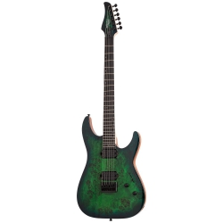 Schecter C-6 Pro Elektro Gitar (Aqua Burst)