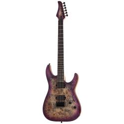 Schecter C-6 Pro Elektro Gitar (Aurora Burst)