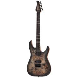 Schecter C-6 Pro Elektro Gitar (Charcoal Burst)