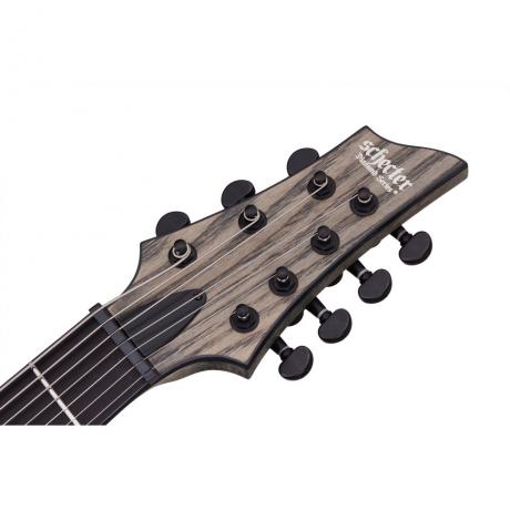 Schecter C-7 Apocalypse 7 Telli Elektro Gitar (Rusty Grey)<br>Fotoğraf: 4/4