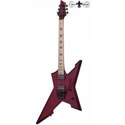 Schecter Cygnus JLX-1 FR Elektro Gitar (See-Thru Cherry)